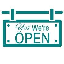 Yes were open